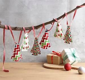 Christmas, Tree, Garland, Tutorial, Pattern, Handmade, Christmas