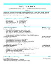 exle of modern resume 8 amazing social services resume exles livecareer