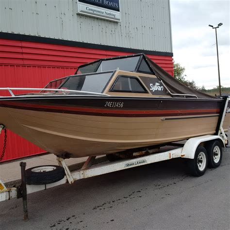 Sylvan Boats For Sale In Ontario by Sylvan 21 Islander 1985 Used Boat For Sale In