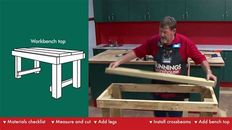 build plans workbench plans bunnings wooden  plan coffee