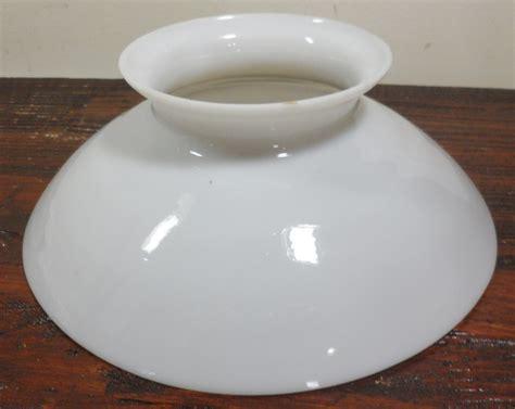 vintage white glass l shade antique vintage white milk glass domed petticoat oil