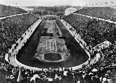 histoire jeux olympiques du sport