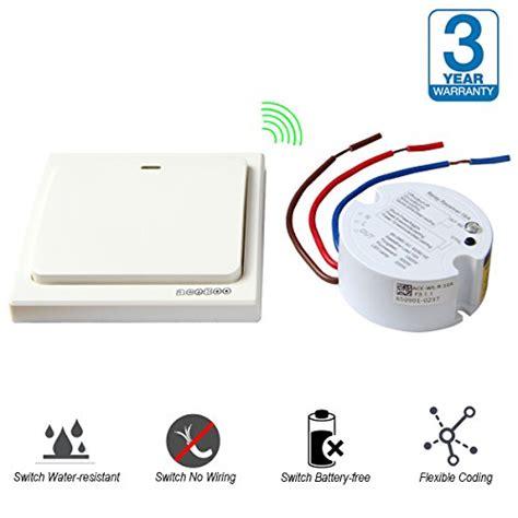 wireless light switch kit acegoo wireless lights switch kit self powered battery