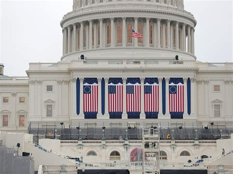Wednesday's inauguration coming two weeks to the day