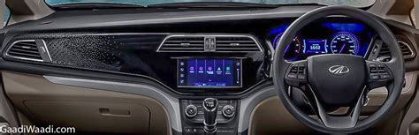 mahindra marazzo dashboard design revealed  official picture