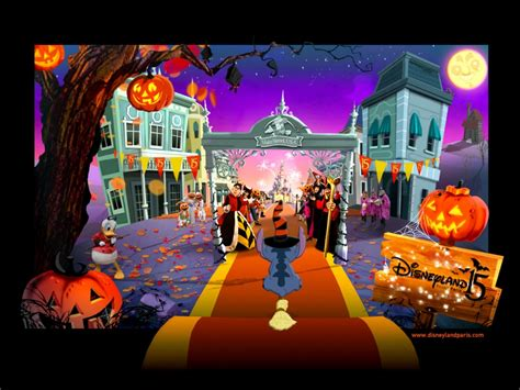 disney halloween desktop pc  mac wallpaper
