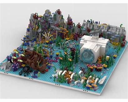 Moc Ocean Mocs Modular Build Lego Rebrickable
