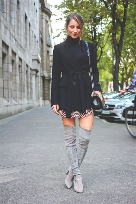 OUTFIT HOW TO WEAR  OVERKNEE STIEFEL