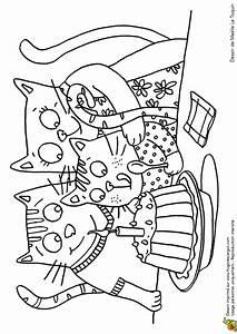 Dessin Gateau Anniversaire : coloriage gateau anniversaire des chats sur ~ Melissatoandfro.com Idées de Décoration