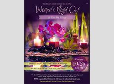 Women's Night Out The Chai Center Dix Hills, NY