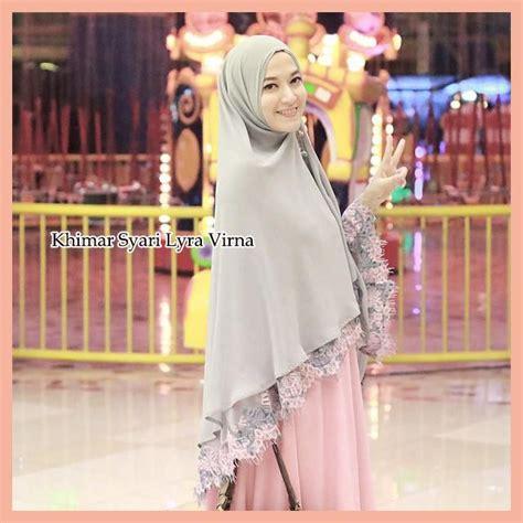 khimar syari lyra virna trend fashion hijabers terbaru