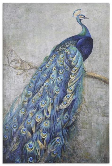 wholesale decorations pictures decor peacock murals oil