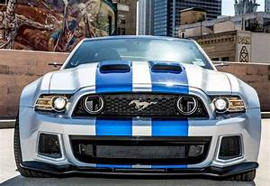 modified ford mustang from movie NFS
