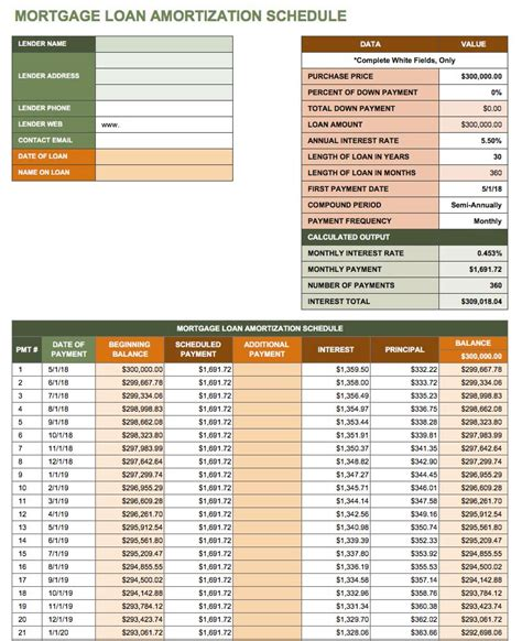 loan amortization calculator loan calculator template microsoft access mortgage payoff