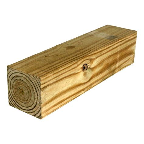 home depot pine 6 in x 6 in x 10 ft pressure treated pine lumber 6320254 the home depot