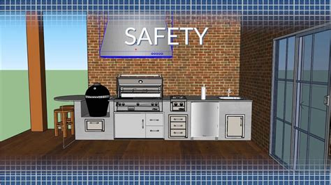 outdoor grill exhaust fan  trend home design