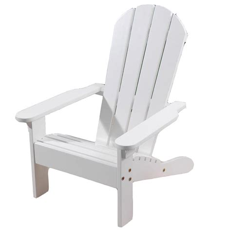 Childrens Adirondack Chair White by Outdoor Chair Adirondack White Washed Display