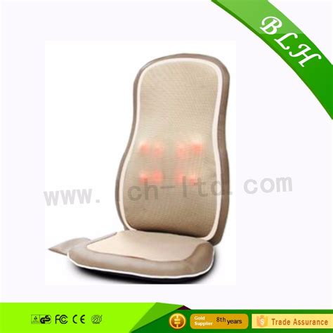 blh physiotherapy shiatsu rolling massaging chair cushion
