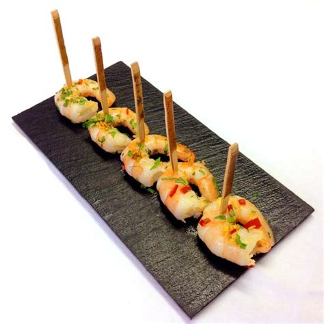 canapes with prawns fish canapes wayne hawkins
