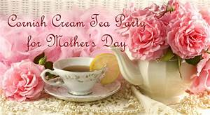 Cornish Cream Tea Party for Mother's Day - Dot Com Women