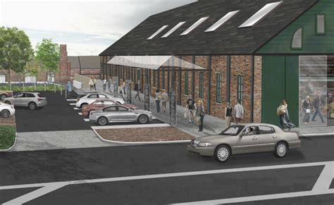 Barn Columbus by New Plan For Trolley Barn Site Calls For Quot East Market