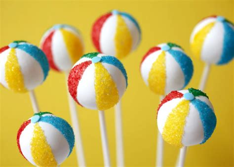 beach themed cake pops cake pops cake design and cookies