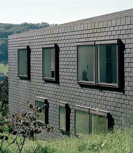 Horizontal, House, In, Switzerland, With, Interior, Courtyard