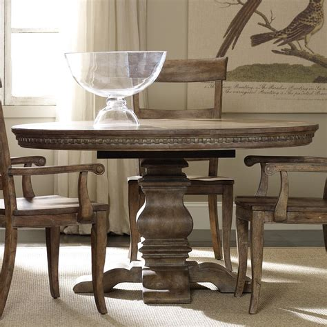 furniture sorella dining table with pedestal