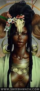 Aries by Sheeba Maya. Black Art. Black Women Art. Natural ...
