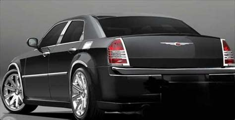 Chrysler Aftermarket Parts by Chrysler 300 300c Chrome Accessories 300fx
