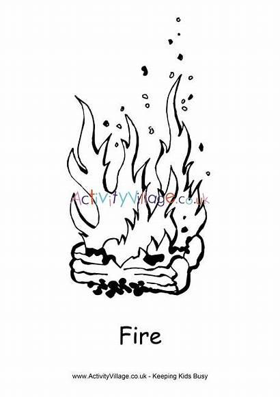 Fire Colouring Pages Activityvillage Activity Village Explore