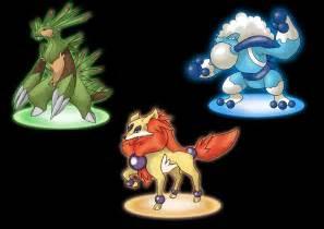 Pokemon x y starters possible evolutions