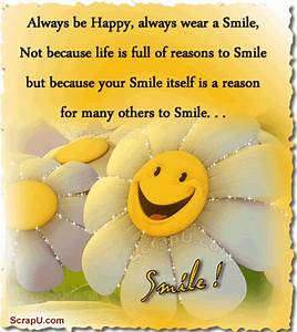 Always Be Happy, Always Wear A Smile Pictures, Photos