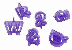 Wilton alphabet numbers fondant cut outs set 40 pieces for Fondant cut out letters