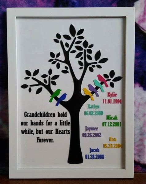 family tree frame 9 quot x12 5 quot frame for the grandparents