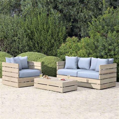fabriquer canapé palette comment fabriquer un fauteuil en palette pour
