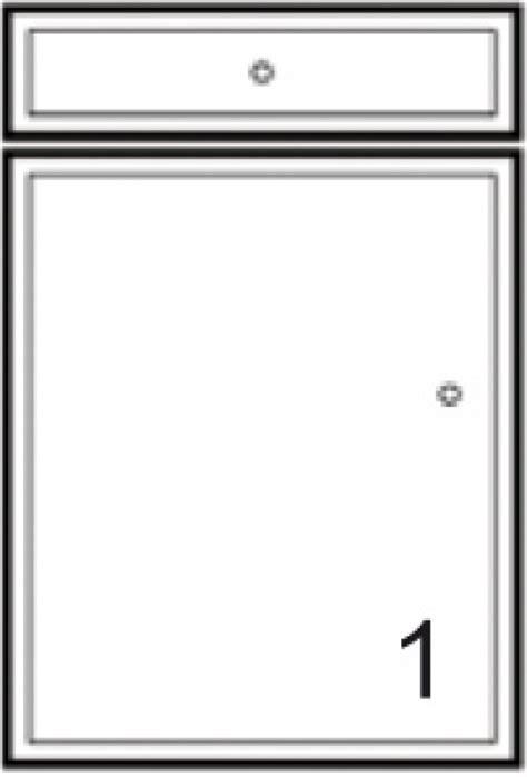 balitrand cuisine façade 1p1t mirage blanc brillant h 11 8 56 cm largeur
