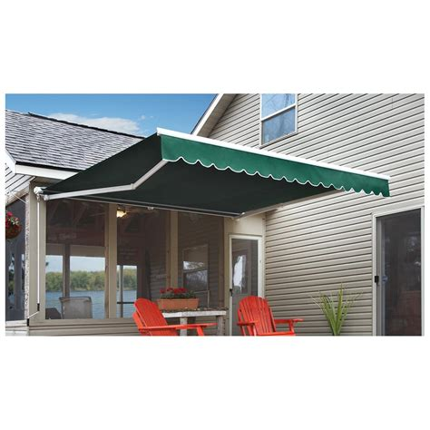 castlecreek retractable awning  awnings shades  sportsmans guide