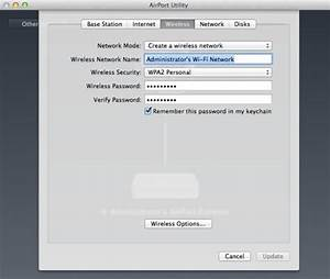Broadband  How To Change The Wireless Password On Your Apple Airport Router  Airport  Apple