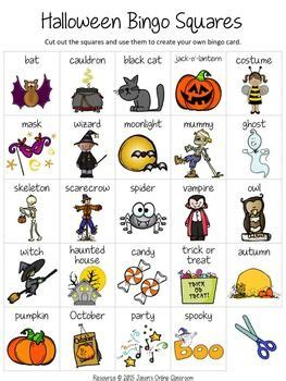 halloween bingo halloween bingo halloween worksheets