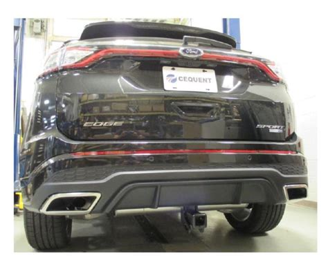 ford edge sport hitch    visible curt