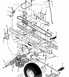 Scotts Riding Lawn Mower Parts Diagram