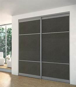 dressing amenagement et portes de placard chelet bois With porte de placard coulissante design