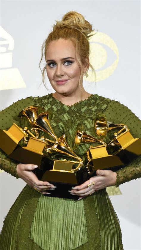 wallpaper adele grammy  grammy awards winner dress