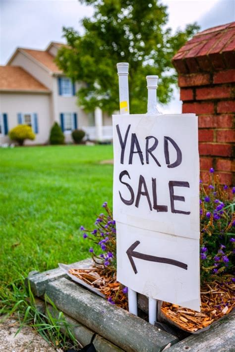 Garage Sales by Selling At Yard Sales Vs Auctions Thriftyfun