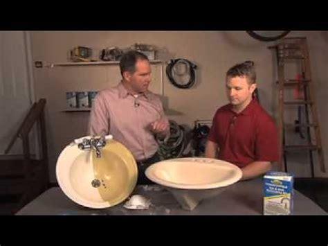 homax tough  tile tub  sink refinishing kit youtube