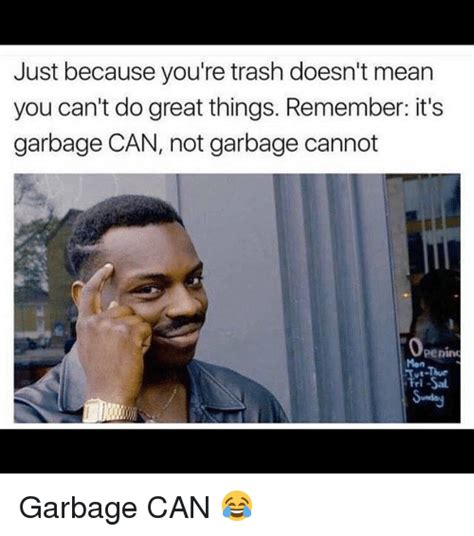 Great Sex Memes - 25 best memes about garbage can garbage can memes