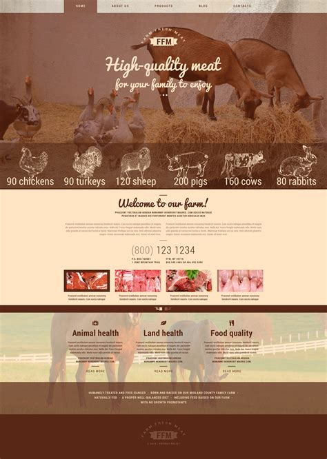 farm wp theme