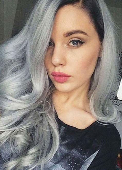 Hair Colours by Gray Hair Color Ideas 2018 2019 Hair Tutorial