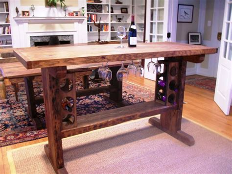 wine tables for crafted wine tasting table by stable tables 1554